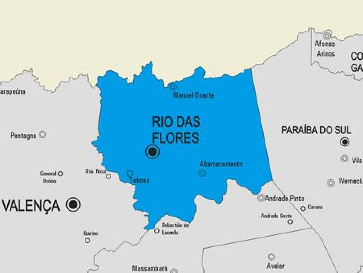 Rio Das Ostras Kommune Kort Kort Over Rio Das Ostras Kommune